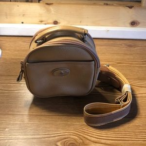 Round small shoulder bag